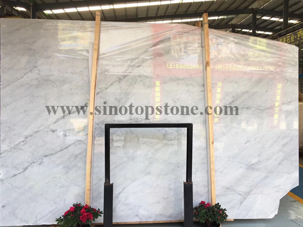 Carrara White Marble slab