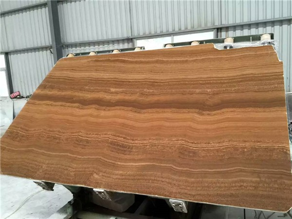 China Teak wood Vein Marble