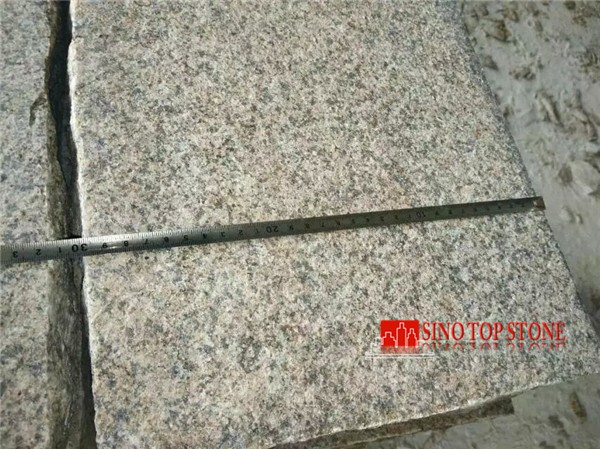 G682-zp Yellow rusty granite paving stone (5)