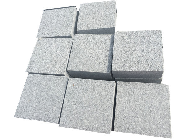 New G633 granite cube paver