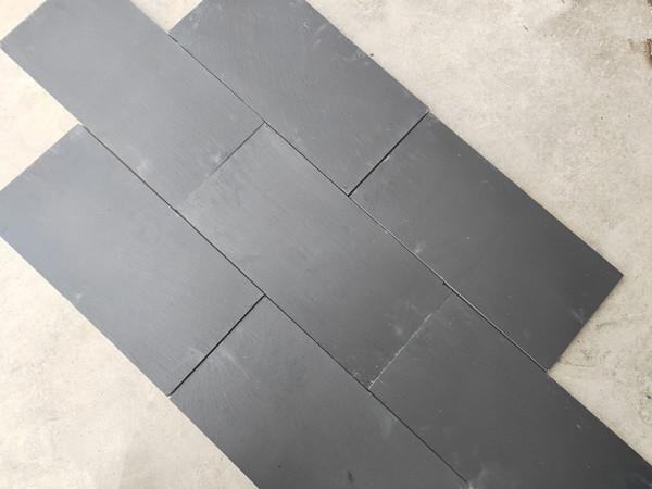China Black blue slate paving tile 02