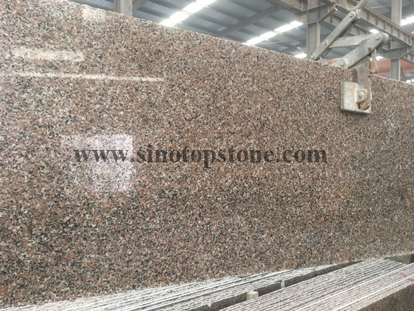 G361 red granite slab