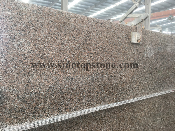 G361 wulian flower granite slab