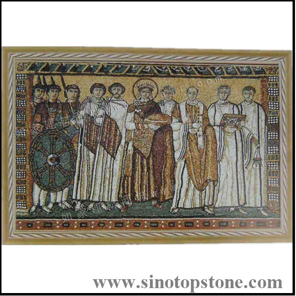 Marble Stone Mosaic Art Pictures customized