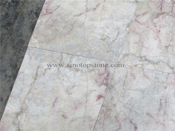 Temple Grey Marble Green Cream Marble tile (1)