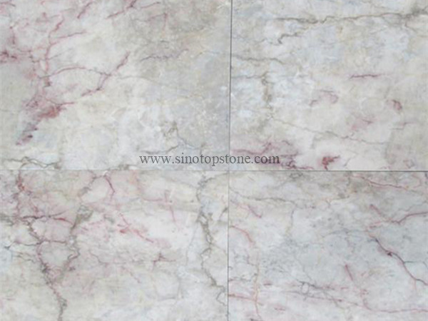 Temple Grey Marble Green Cream Marble tile (2)