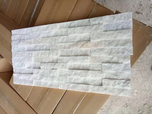 white quartz Stone Panel for Wall