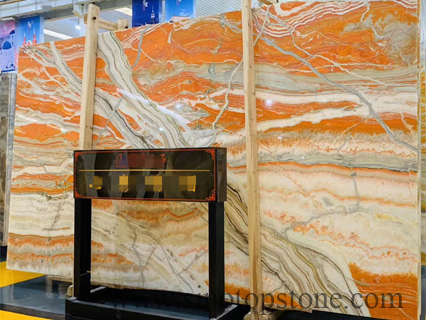 Colorful Paiting Onyx Slab
