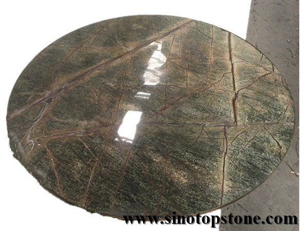 Rain Forest Marble round top (1)