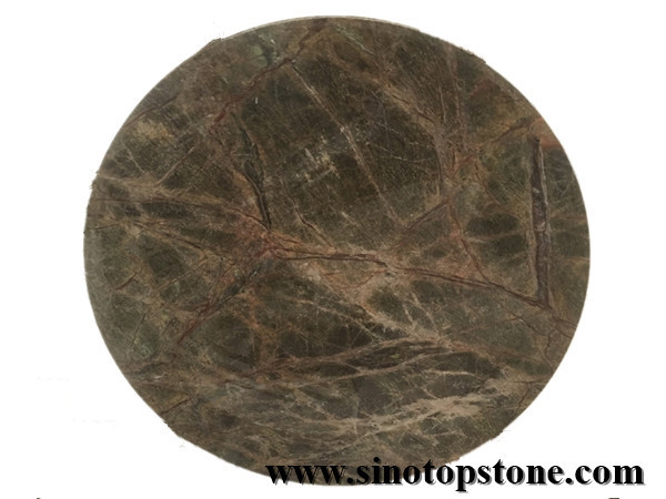 Rain Forest Marble round top