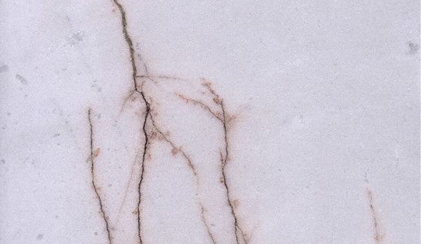 Red Line White Jade Marble
